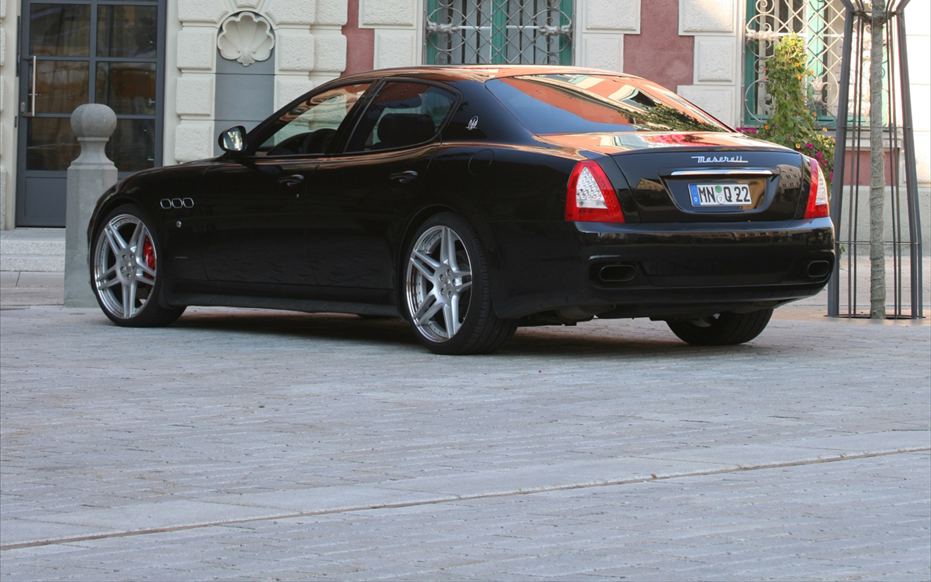 Tridente Maserati Quattropote